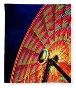 The Ferris Wheel 7/10/14 Fleece Blanket