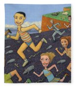 The Finish Line Fleece Blanket