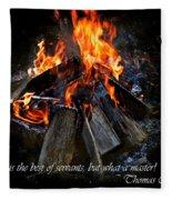 The Fire Fleece Blanket
