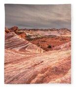 The Fire Wave Fleece Blanket