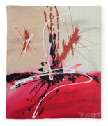 The Fire Within Coming Out Fleece Blanket