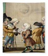 The First Approach, C.1790 Fleece Blanket
