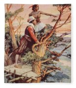 The First Englishman To See The Pacific Fleece Blanket