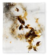 The Fish And The Bird Fleece Blanket