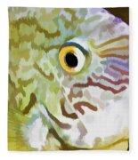 The Fish Fleece Blanket