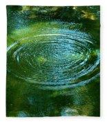The Fish Pond Fleece Blanket