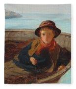 The Fisher Boy Fleece Blanket