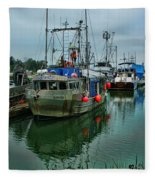 The Fishing Boat Genesta Hdrbt4240-13 Fleece Blanket