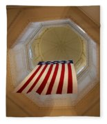 The Flag - Maryland State House Fleece Blanket