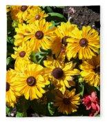 The Flower 16 Fleece Blanket