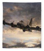 The Flying Fortress Fleece Blanket
