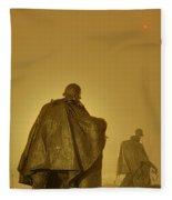 The Fog Of War #2 Fleece Blanket