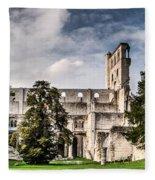 The Forgotten Abbey 2 Fleece Blanket