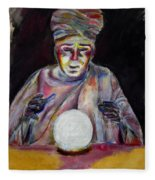 The Fortune Teller Fleece Blanket