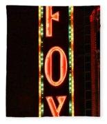 The Fox Fleece Blanket