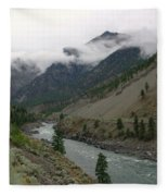 The Fraser River Fleece Blanket