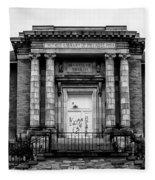 The Free Library Of Philadelphia - Manayunk Branch Fleece Blanket