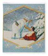 The Frost King Fleece Blanket