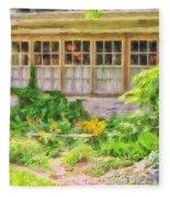 The Garden At Juniata Crossings Fleece Blanket