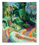 The Garden Fleece Blanket