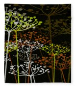 The Garden Of Your Mind 2 Fleece Blanket