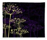 The Garden Of Your Mind 5 Fleece Blanket