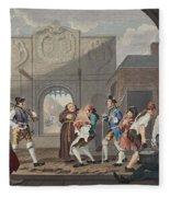 The Gate Of Calais, Or O The Roast Beef Fleece Blanket
