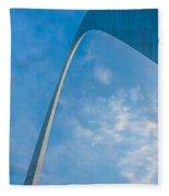 The Gateway Arch Fleece Blanket