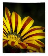 The Gazania Fleece Blanket