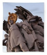 General George Meade Memorial -- The Front Fleece Blanket