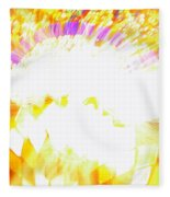 The Genie Leaves The Lamp Fleece Blanket