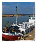The George Campbell  Fleece Blanket