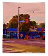 The Georgetown Sports Pub Soccer Bar Bank St The Glebe Paintings Of Ottawa Carole Spandau Artist Fleece Blanket