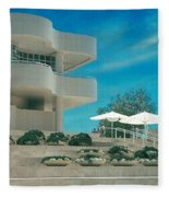 The Getty Panel 1 Fleece Blanket