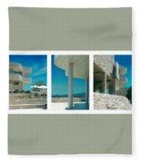 The Getty Triptych Fleece Blanket