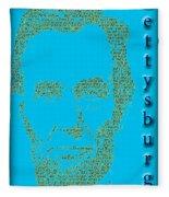 The Gettysburg Address 150th Anniversary  Fleece Blanket