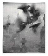 The Ghost Birds Fleece Blanket