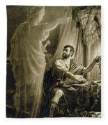 The Ghost Of Julius Caesar, In The Play Fleece Blanket