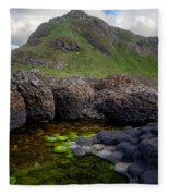 The Giant's Causeway - Peak And Pool Fleece Blanket