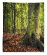 The Giving Tree Fleece Blanket