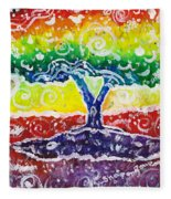 The Giving Tree Fleece Blanket