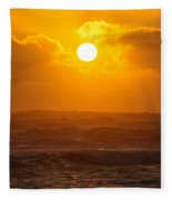 The Glorious Son Fleece Blanket