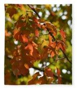 The Glory Of Autumn Fleece Blanket