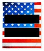 The Goal - Equality Art By Sharon Cummings Fleece Blanket