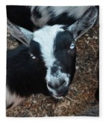 The Goat With The Gorgeous Eyes Fleece Blanket