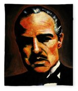 Godfather Fleece Blanket