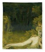 The Golden Age, 1897-98 Fleece Blanket