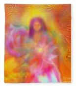 The Golden Deva Fleece Blanket