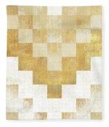 The Golden Path Fleece Blanket