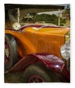 The Golden Twenties Fleece Blanket